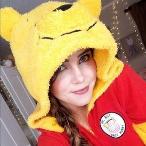 Disney Winnie the Pooh Honey Adult Onesie Pajamas